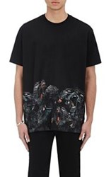Givenchy Men's Monkey Graphic T Shirt Black