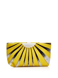 Burberry Book Cover Print Leather Pouch