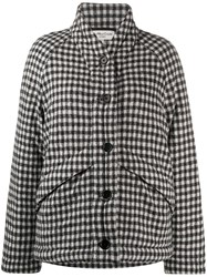 Ymc Gingham Check Padded Coat 60