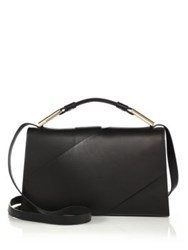Jason Wu Charlotte Leather Shoulder Bag White