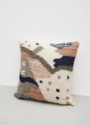 Minna Cartographer Pillow Light Multicolored