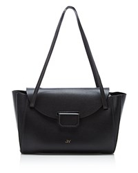 Jason Wu Marion Leather Shoulder Bag Black Gold