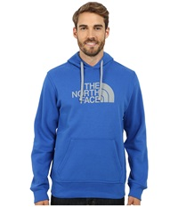 The North Face Half Dome Hoodie Monster Blue Monument Grey Men's Long Sleeve Pullover