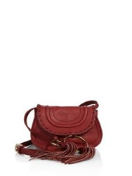 See By Chloe Polly Mini Leather Belt Bag Grape