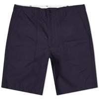 Engineered Garments Ripstop Fatigue Short Blue