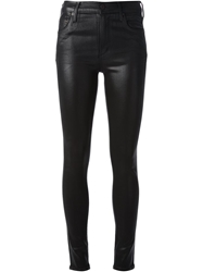 Citizens Of Humanity Shiny Skinny Jeans Black