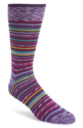 Bugatchi Mercerized Socks Lilac