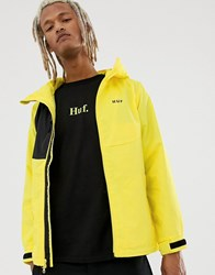 Huf Standard Shell Jacket In Yellow