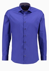 Eterna Slim Fit Formal Shirt Blau Blue