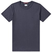 C.P. Company Basic Chest Logo Tee Blue