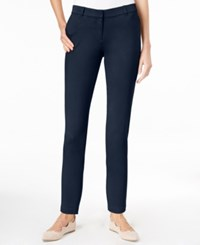 Maison Jules Ankle Skinny Pants Only At Macy's Blu Notte