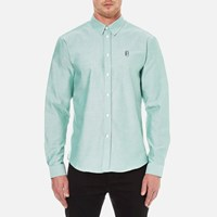 Carven Men's Long Sleeve Shirt Vert