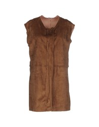 Please Coats And Jackets Full Length Jackets Women Brown