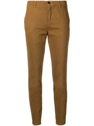 Department 5 Chino Gabardina Trousers Nude And Neutrals