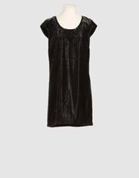 Isaac Mizrahi Short Dresses Black