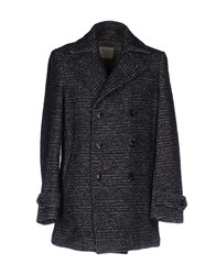 Individual Coats Dark Blue