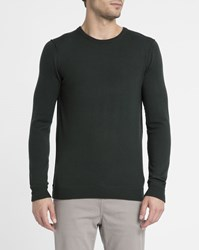 Eleven Paris Khaki Merino Wool Tic Tac Sweater