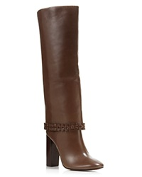 Tory Burch Sarava High Heel Boots Glabra Brown