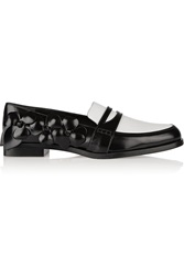 Maiyet Glossed Leather Loafers