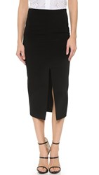 Veronica Beard Crevalle Pencil Skirt Black