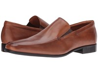 Gordon Rush Elliot Cognac Calf Men's Slip On Dress Shoes Brown
