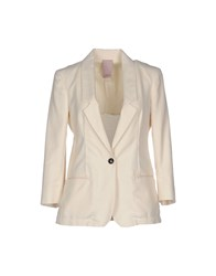 People Suits And Jackets Blazers Women Ivory