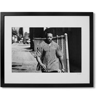 Sonic Editions Framed Dr. Dre Print 16 X 20 Black