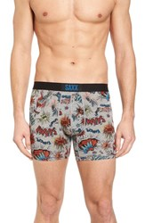 Saxx Vibe Stretch Boxer Briefs Slam