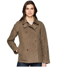 Filson Whitmarsh Trench Olive Gray Coat Black