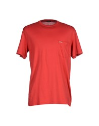 Pirelli Pzero Topwear T Shirts Men Red