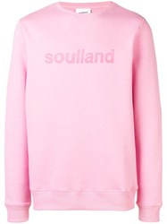 Soulland Willie Sweatshirt Pink