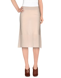 Sonia Rykiel Knee Length Skirts Sand