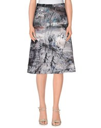 Elisabetta Franchi Skirts 3 4 Length Skirts Women Grey