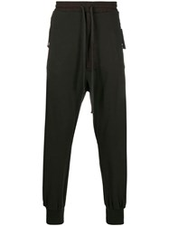 Thom Krom High Waisted Track Pants Brown