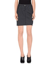 Trussardi Jeans Denim Denim Skirts Women Grey