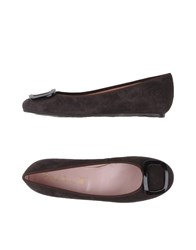 Pretty Ballerinas Footwear Ballet Flats Women Dark Brown