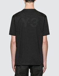 Y 3 Logo T Shirt Black