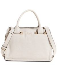Guess Talan Large Top Handle Satchel Stone