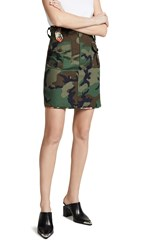 Harvey Faircloth Utility Skirt Camo
