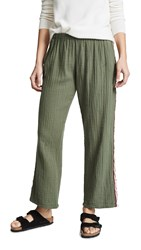 9Seed Sorrento Beach Pants Army Green