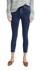Dl1961 Chrissy Cropped Ultra High Rise Skinny Jeans Prussia