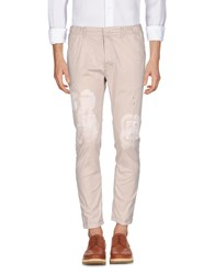Frankie Morello Trousers Casual Trousers Beige