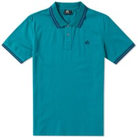 Paul Smith Pill Logo Polo Green