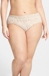 Plus Size Women's Hanky Panky French Briefs Chai