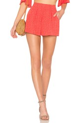 Ale By Alessandra X Revolve Blanca Shorts Red