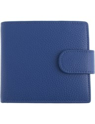 Dents Rfid Protection Leather Wallet Royal Blue