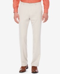 Perry Ellis Portfolio Straight Fit Performance Stretch Dress Pants Alloy
