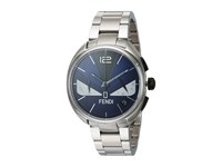 Fendi Timepieces Momento Bugs 40Mm Blue Multi Stainless Steel Watches