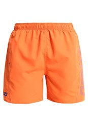 Arena Fundamentals Swimming Shorts Mango Royal Orange