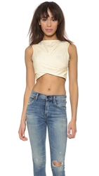 Marc By Marc Jacobs Summer Cotton Crop Top Whey